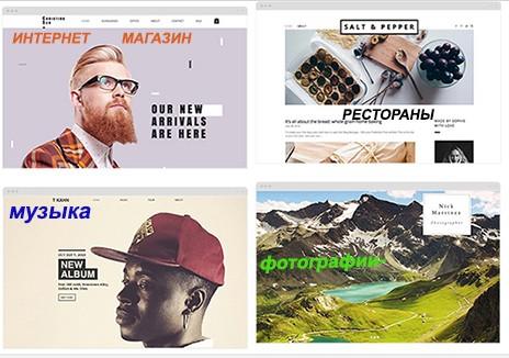 Бесплатные шаблоны сайта конструктора Wix | Деньги здесь interwork.ru