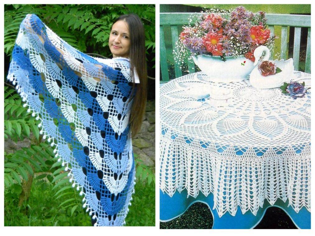 Вязание шали как бизнес на дому